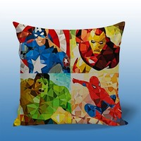BDP 96 Marvel Comics Goes Geometric - Decorative Pillow Design