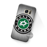 Art Work Dallas Stars Logo Carbon Samsung Galaxy Case Cover Series