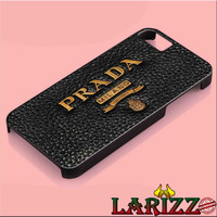 "Prada Logo for iphone 4/4s/5/5s/5c/6/6+, Samsung S3/S4/S5/S6, iPad 2/3/4/Air/Mini, iPod 4/5, Samsung Note 3/4 Case ""002"""