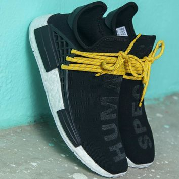 Adidas PW HUMAN RACE NMD tide brand fashion sneakers F black