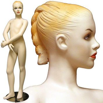 """MN-087 Young Teenage Girl Mannequin in Dance Pose 4' 7"""""""