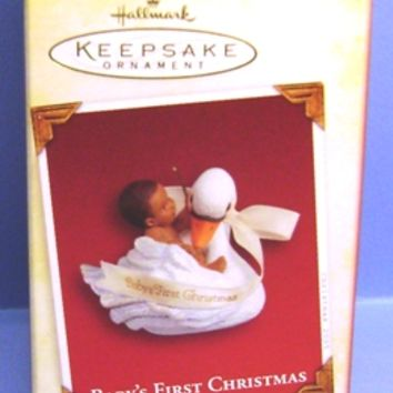 2005 Baby's First Christmas Hallmark Retired Ornament