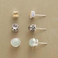 MELLOW MIX TRIO, SET OF 3         -                Stud         -                Earrings         -                Jewelry         -                Categories                       | Robert Redford's Sundance Catalog