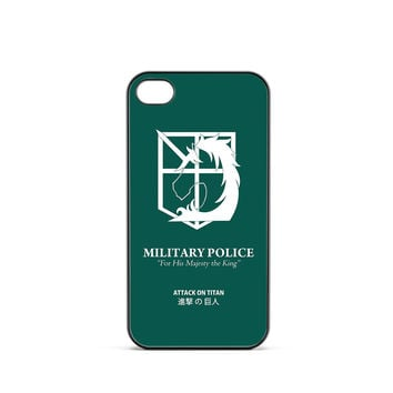 Attack on Titan Military Police iPhone 4 / 4s Case