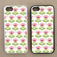 Floral Pattern iPhone Case, iPhone 5 Case, iPhone 4S Case, iPhone 4 Case - SKU: 148