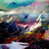 Untitled (Landscape) 20100816g Art Print | Print Shop