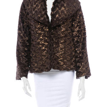Alice + Olivia Woven Jacket w/ Tags