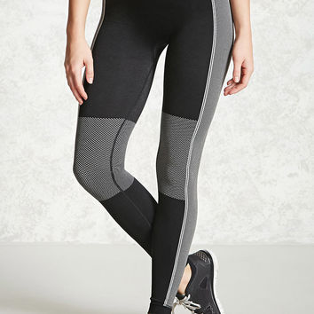 Active Pattern-Blocked Leggings