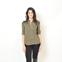 Free People - Off Campus Cargo Shirt