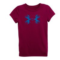Under Armour Girls' Toddler UA Antler Logo T-Shirt