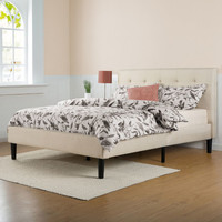OrthoTherapy Upholstered Panel Bed & Reviews | Wayfair