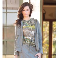 Realtree Girl® Cement Hooded Jacket   Free Shipping