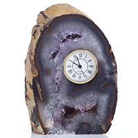 Agate Table Clock | Clocks | Home Accents | Decor | Z Gallerie