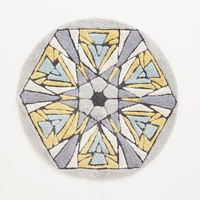 Tufted Kaleidoscope Bathmat