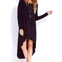 Easy High-Low Dress