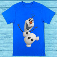 Olaf Frozen Elsa for t shirt mens and t shirt girls