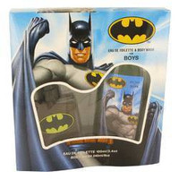 Batman by Marmol & Son Gift Set -- 3.4 oz Eau De Toilette Spray + 8 oz Body Wash (Men)