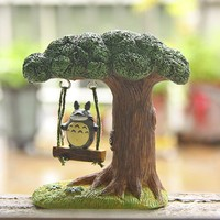 Kawaii Cute My Neighbor Totoro Swing Tree Action Figure
