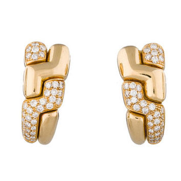 Bvlgari 1.5ctw Diamond Earrings