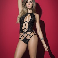 Holy Halter Lace | Lingerie Set