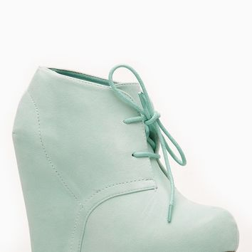 Bamboo Faux Suede Almond Toe Desert Mint Booties @ Cicihot Wedges Shoes Store:Wedge Shoes,Wedge Boots,Wedge Heels,Wedge Sandals,Dress Shoes,Summer Shoes,Spring Shoes,Prom Shoes,Women's Wedge Shoes,Wedge Platforms Shoes,floral wedges