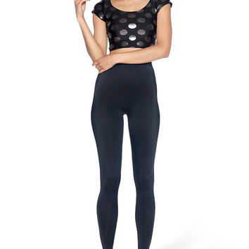 Spot On Cap Sleeve Crop - LIMITED