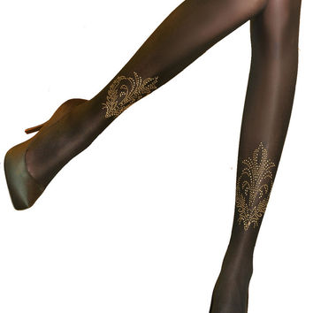 Pretty Ornate Tights