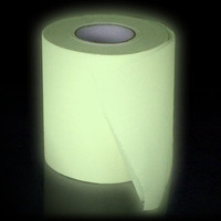 Glow in the Dark Loo Roll - buy at Firebox.com
