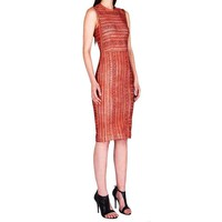 Yigal Azrouel Tribal Printed Scuba Dress