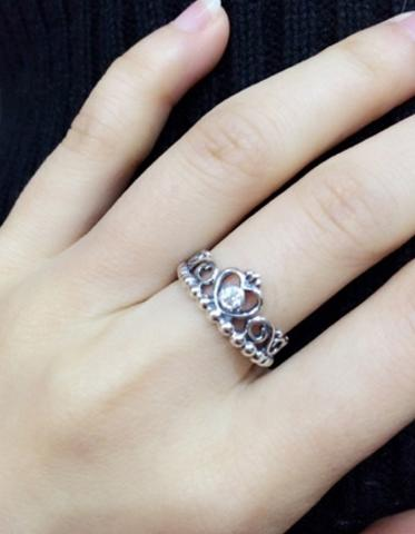 Pandora Silver Crown Ring Synthetic From Summer11 Things I
