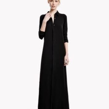 THEORY Scenta Dress in Modern GGT