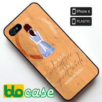 I Want Adventure In The Great Wide Somewhere Iphone 6 Plastic Case