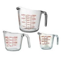 Open Handle Measuring Cup 3pc