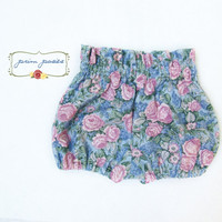 Infant Girl Bloomers, Baby Girl Clothes, Infant Clothing, Baby Diaper Cover, Baby Girl Shorts, Infant Girl Clothes, Size 3-6 Months