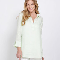 Womens Tops: Lucaya Linen Tunic Top for Women – Vineyard Vines