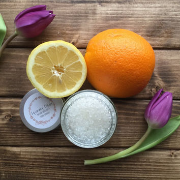 Lemon & Orange Body Salt Scrub
