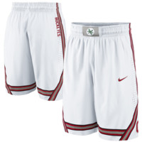 Nike Ohio State Buckeyes Replica Basketball Shorts - White