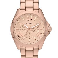 Fossil Watch, Women's Cecile Rose Gold-Tone Stainless Steel Bracelet 40mm AM4511