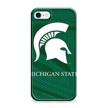 Michigan State logo on green jersey iPhone 6 | iPhone 6S case