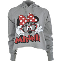 FREEZE MINNIE CROP HOODIE