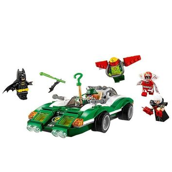 Batman Dark Knight gift Christmas Batman Series The Riddler Riddle Racer Building Blocks Bricks Movie Model Kids Toys Marvel Compatible Legoe AT_71_6