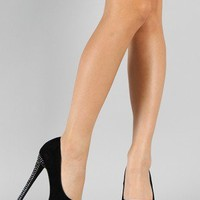 Speed Limit 98 Udon-S Lami Jewel Peep Toe Pump
