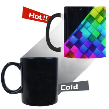 Future Cities Morphing Mug 11 oz. - Changes Color w/heat