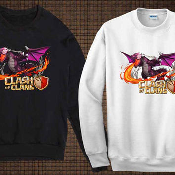 dragon sweater clash of clan sweatshirt fit for you and your children