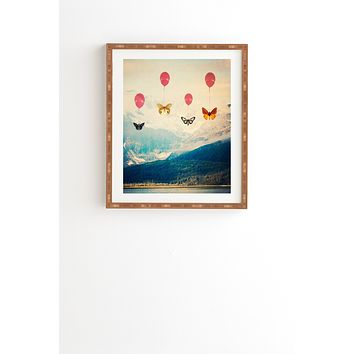Maybe Sparrow Photography Passage Framed Wall Art