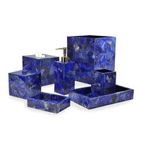 Taj Lapis Bath Collection by Mike + Ally