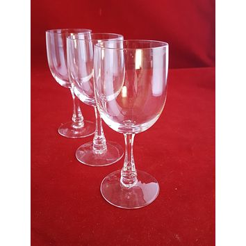 Crystal Cordial Or Sherry Glasses