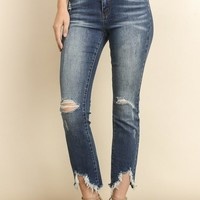 Santa Monica Distressed Skinny Denim