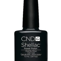 CND SHELLAC NEW FALL 2012 - OVERTLY ONYX | AihaZone Store