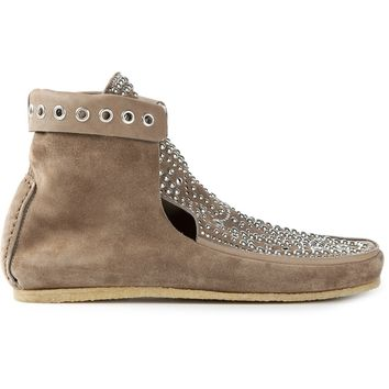 Isabel Marant Studded Moccasin Boots